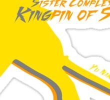 Kingpin of Steel Sticker