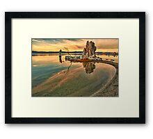 Sunrise at Mono Lake Framed Print