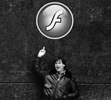 "Steve Jobs Says: ""Screw you Flash"" by SEANJOHNSONRN"
