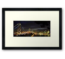 Bay Bridge thru the Trees Framed Print