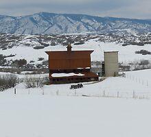 Winter Rural Beauty  by Marijane  Moyer