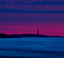 Thacher Island from Good Harbor by Steve Borichevsky