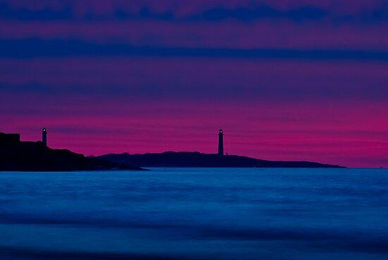 Thacher Island from Good Harbor by Steve Borichevsky