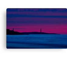 Thacher Island from Good Harbor Canvas Print