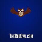 TheRedOwl.com iPhone Case by Tom Baurain