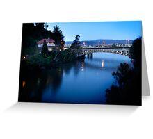 Kings Bridge, Launceston, Tasmania Greeting Card