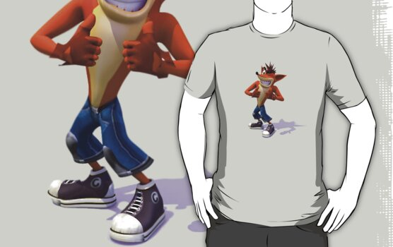 Crash Bandicoot by Chewitz