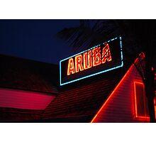 Aruba Beach Cafe  Photographic Print