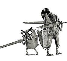 Finn and Jake, Prepare to Die Edition by Skeletal-Raven