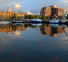Waterfront Reflections by Glenda Williams