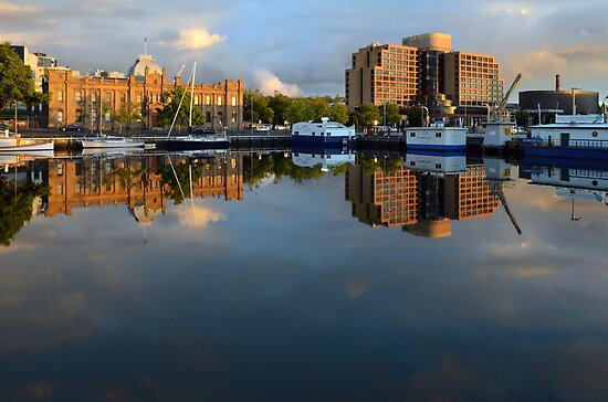 Waterfront Reflections by gmws