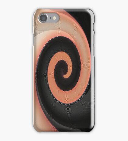 Two Tone Twirl iPhone Case/Skin