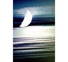 Moon Streaks Photographic Print