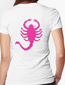 DRIVE SCORPION (PINK) Womens Fitted T-Shirt