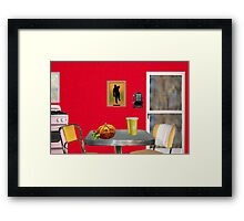 Beginning of The Day (Tribute To Wesselmann)  Framed Print
