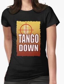 Tango Down Womens Fitted T-Shirt