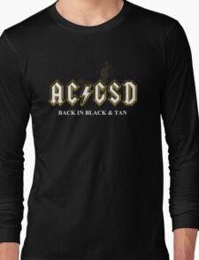 AC/GSD Back in Black & Tan Long Sleeve T-Shirt