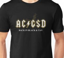 AC/GSD Back in Black & Tan Unisex T-Shirt