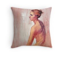 Portrait of Amy #2 Throw Pillow