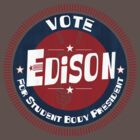 Vote Edison 2012 by johnbjwilson