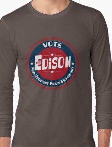Vote Edison 2012 Long Sleeve T-Shirt