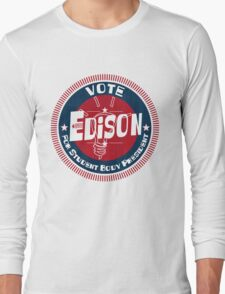 Vote Edison 2012 Long Sleeve T-Shirt
