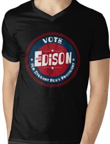Vote Edison 2012 Mens V-Neck T-Shirt