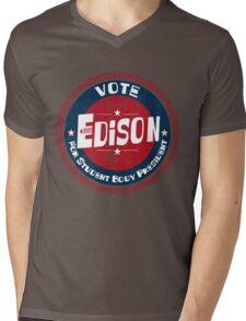 Vote Edison 2012 Mens V-Neck T-Shirt