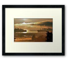 Mothball Fleet Framed Print