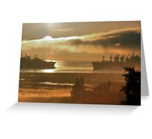 Mothball Fleet Greeting Card
