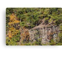 The Cliffs - Green Lane Reservoir - Green Lane PA - USA Canvas Print