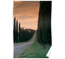 Tuscan Farmhouse Poster