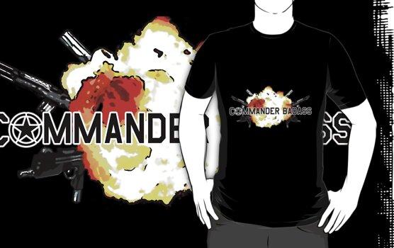Commander Badass Logo by boomshadow