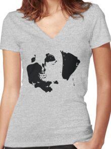 Labrador Retriever Women's Fitted V-Neck T-Shirt