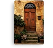 Tuscan Doorway Canvas Print