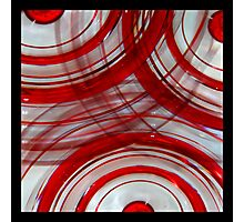 The Red Blob Glass - Week 2 Photographic Print