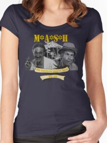 M*A*S*H: The Traveling Medical Show Women's Fitted Scoop T-Shirt