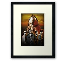 Doctor Who - Terror of the Zygons Framed Print