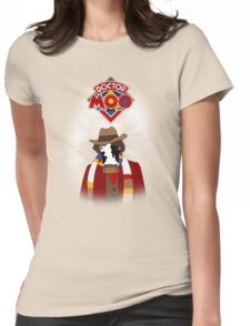 Doctor Moo Womens Fitted T-Shirt