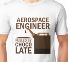Aerospace Engineer Fueled by Chocolate Unisex T-Shirt