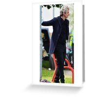 Peter Capaldi Original Art Greeting Card