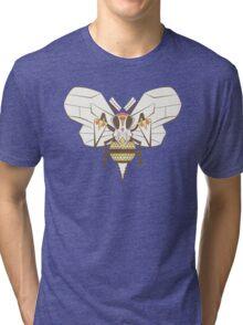 Beedrill Pokemuerto | Pokemon & Day of The Dead Mashup Tri-blend T-Shirt