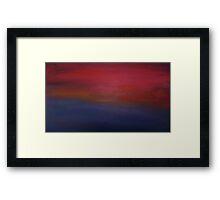 Sunrise/Sunset Framed Print