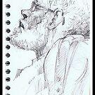 Portreit on the train 8 by boris reyt