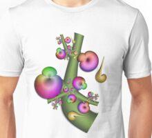 A Rainbow Tree Glowing at Night Unisex T-Shirt