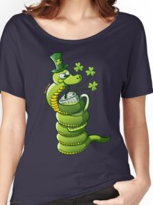 Saint Patrick's Day Snake Women's Relaxed Fit T-Shirt