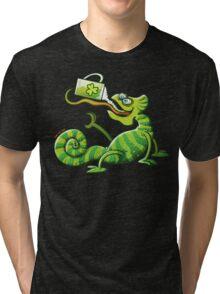 Saint Patrick's Day Chameleon Tri-blend T-Shirt