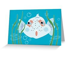 Funny Fish Greeting Card