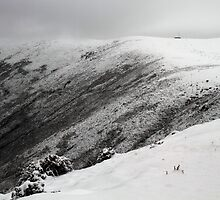 On the snowy mountains by SHOT