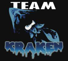 Team KRAKEN (Blue) Kids Tee